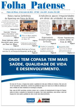 Folha Patense 14/05/2011(nº 942