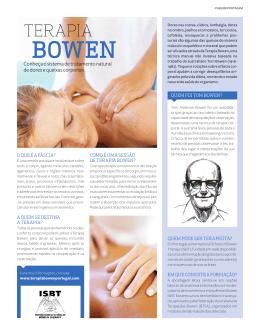 Saber Viver - terapia bowen portugal