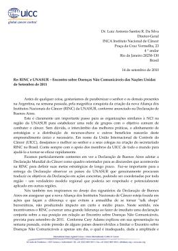 Dr. Luiz Antonio Santini R. Da Silva Diretor