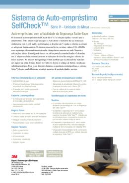 SelfCheck System V-Series Tabletop_Portugal3