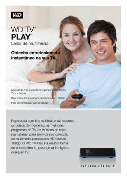 WD TV® Play™ Media Player