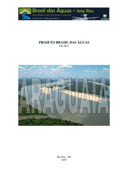 Relatório final do sobre o Rio Araguaia