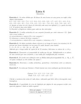 Lista 6
