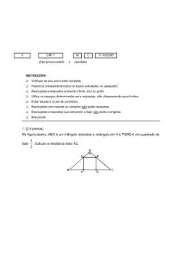 Na figura abaixo, ABC é um triângulo isósceles e retângulo em A e
