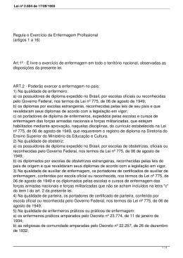 Lei nº 2.604 de 17/09/1955