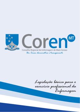 Untitled - Conselho Regional de Enfermagem do Mato Grosso