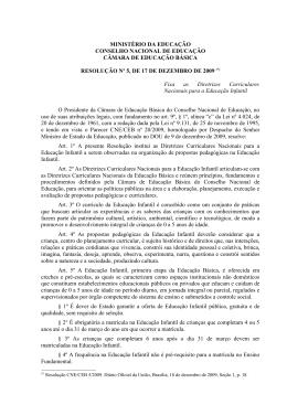 Resolução CNE/CEB nº 5/2009