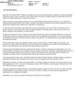 """""""Por trás dos números"""", Gazeta Mercantil – SP"""