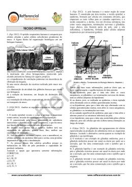 TECIDO EPITELIAL - Refferencial Cursos