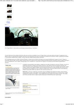 USP exibe simulador do F-18, um dos mais modernos ca