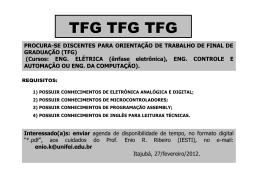 TFG TFG TFG