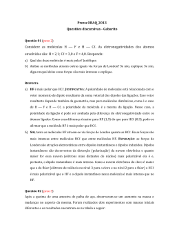 Gabarito Discursiva