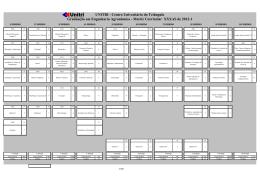 Matriz Curricular XXXAS de 2012-1