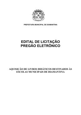 prefeitura municipal de diamantina