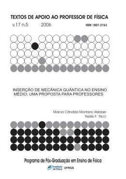 Inserção de mecânica quântica no ensino médio