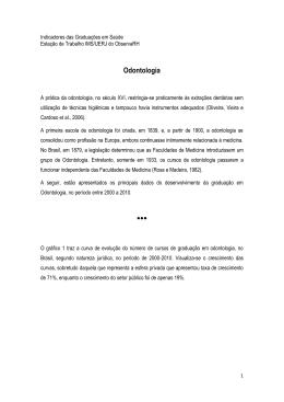 Odontologia - ObservaRH – Estação de Trabalho IMS/UERJ