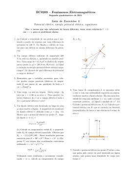 BC0209 – Fenômenos Eletromagnéticos