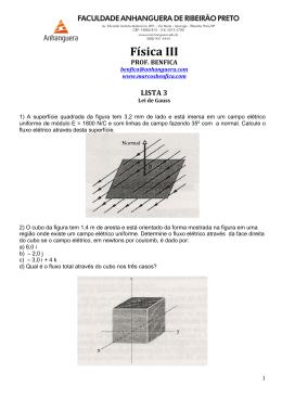 Física III - Lei de Gauss