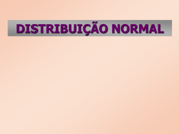 Distribuição Normal - IME-USP