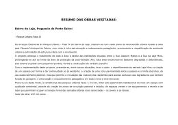 Consultar mais informação - Câmara Municipal de Oeiras