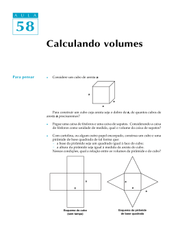 58. Calculando volumes