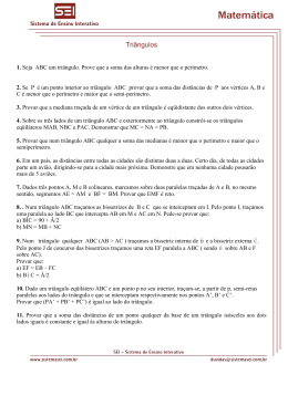 Triângulos - Sistema SEI