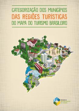 das Regiões Turísticas - Mapa do Turismo Brasileiro
