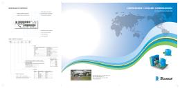 compressores e unidades condensadoras