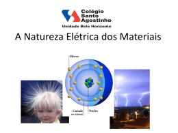 A Natureza Elétrica dos Materiais