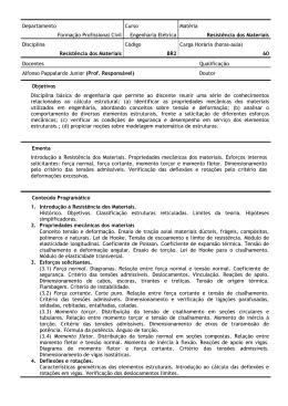 Departamento Formação Profissional Civil Curso Engenharia