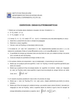 Ondas Eletromagnéticas - Instituto de Física da UFBA