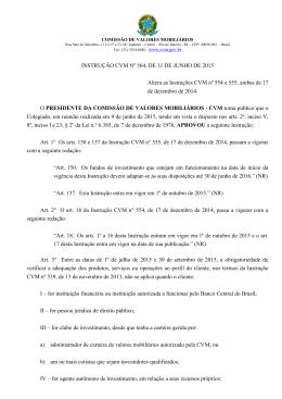 Instrução CVM 564