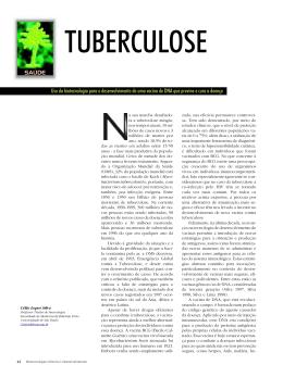 TUBERCULOSE - Biotecnologia