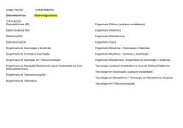 Eletromecânica (EII) - Etec Trajano Camargo