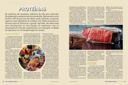 Dossiê proteínas