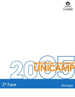 2ª Fase - Unicamp