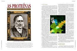 Artigo 2: as proteínas: classificação, estrutura e propriedades