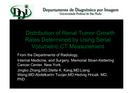 Distribution of Renal Tumor Growth Rates - (DDI)