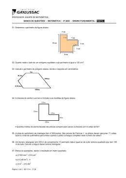 matemática - 6º ano - ensino fundamental