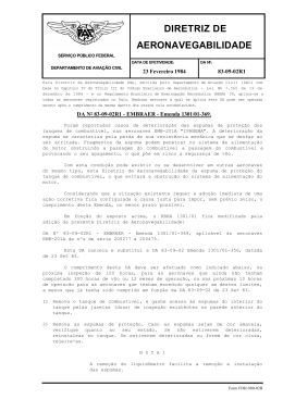 DIRETRIZ DE AERONAVEGABILIDADE
