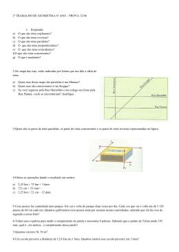2º TRABALHO DE GEOMETRIA 6º ANO – PROVA 12/06 1