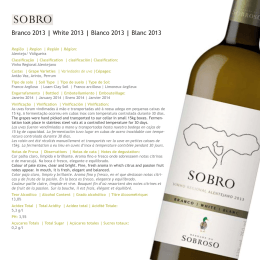 Sobro white 2013 - Oakley Wine Agencies