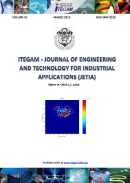 VOLUME 01 MARÇO 2015 ISSN 2447-0228 Editor-in - itegam