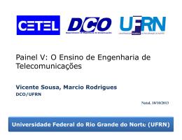 Necessidade do Curso de Engenharia de Telecomunicações no Brasil