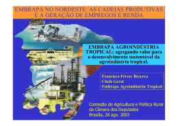 Francisco Férrer-Agroindústria Tropical
