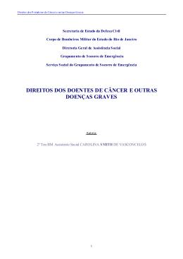 direitos dos doentes de câncer e outras doenças graves
