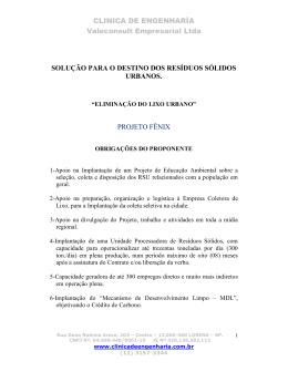 CLINICA DE ENGENHARÍA Valeconsult Empresarial Ltda