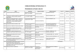 contratos e convenios crp22 - Conselho Regional de Psicologia