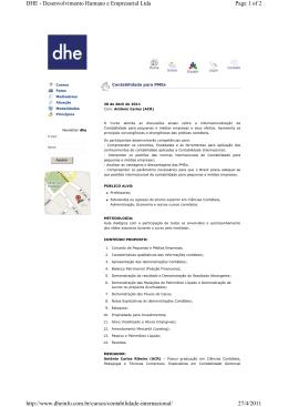 Page 1 of 2 DHE - Desenvolvimento Humano e Empresarial Ltda 27
