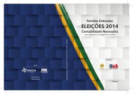 Eleições 2014 Contabilidade Necessária - Crc